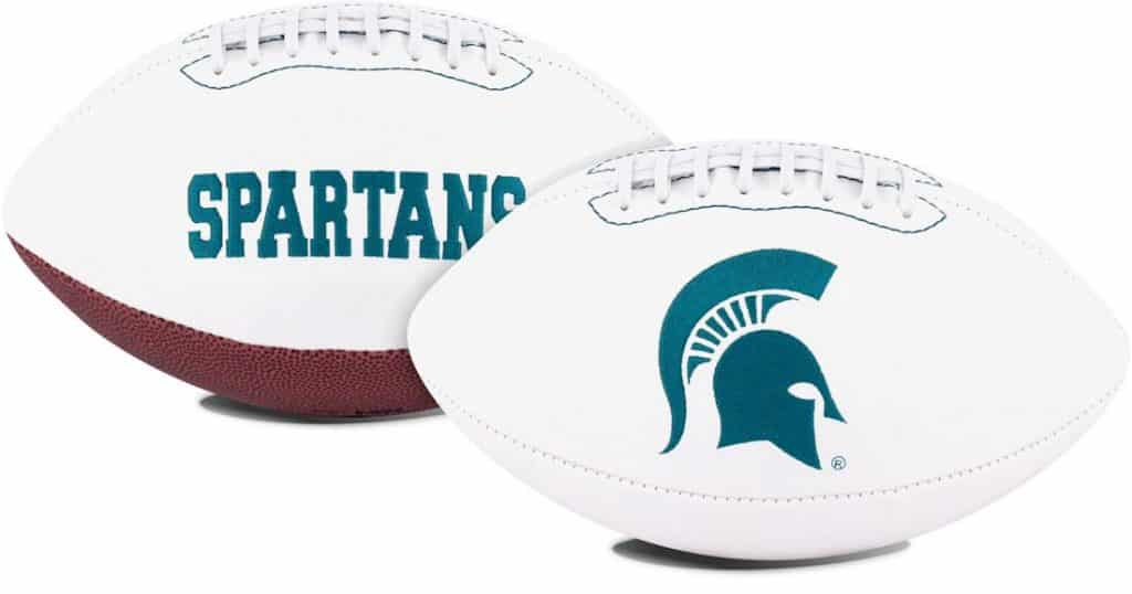 Michigan State Spartans Signature Football