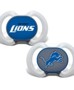 Detroit Lions NFL Pacifiers - 2 Pack