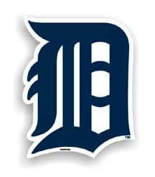Detroit Tigers MLB 12″ Car Magnet