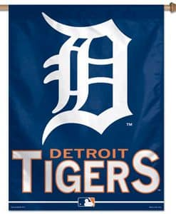 Detroit Tigers MLB 27″x37″ Banner