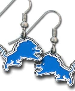 Detroit Lions NFL Dangle Earrings