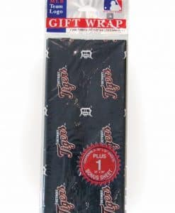 Detroit Tigers MLB Gift Wrap