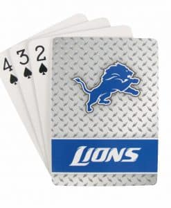 Detroit Lions NFL Playing Cards - Diamond Plate