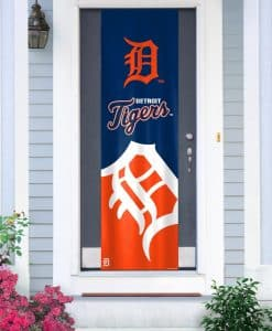 Detroit Tigers MLB Door Banner