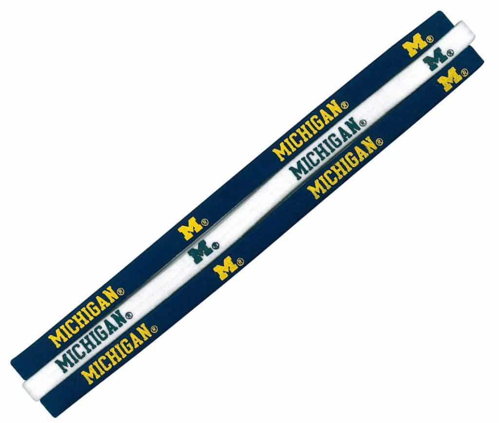 Michigan Wolverines NCAA Elastic Headbands