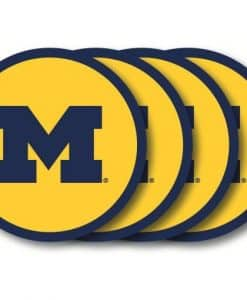 Michigan Wolverines NCAA Coaster Set - 4 Pack