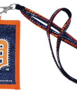 """Welcome to detroitgamegear.com here is the product description. This lanyard with attached nylon ID case is perfect for work or the game! The ID case has a zipper pocket to put your ID, credit card or money in. The ID case is printed with your teams logo and outlined with beads. The lanyard is encrusted with a double row of team color beads. It is approximately 22"""" long. The ID case is approximately 3""""x2"""" in size. Made By Rico Industries"""