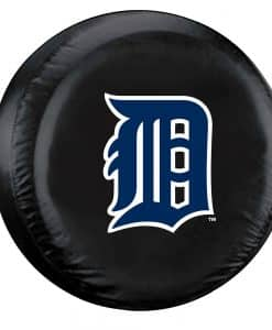 Detroit Tigers MLB Black Tire Cover – Standard Size