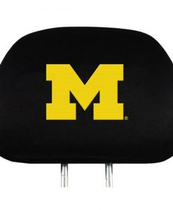 Michigan Wolverines Headrest Covers