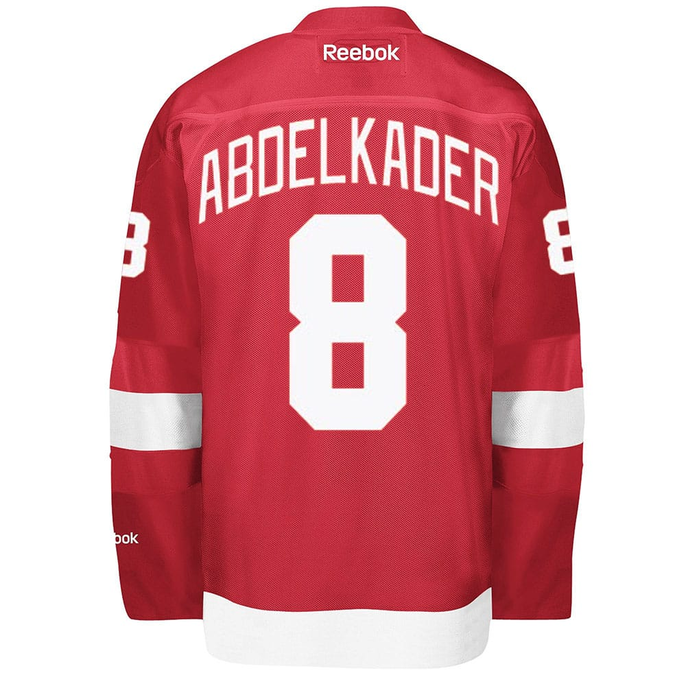 Abdelkader Red Wings Home Jersey