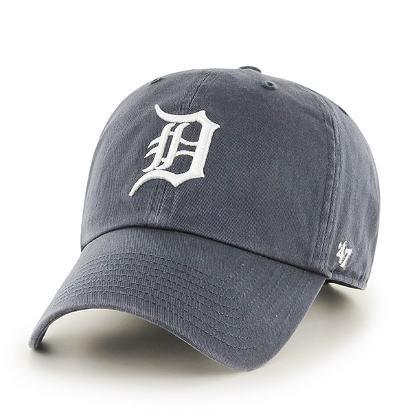 Detroit Tigers 47 Brand Home Vintage Clean Up Adjustable Hat