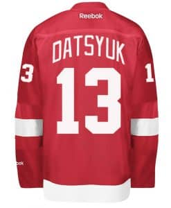 Datsyuk Red Wings Home Jersey