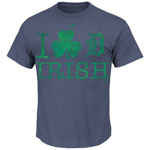Detroit Tigers St. Patrick's Day T-Shirt