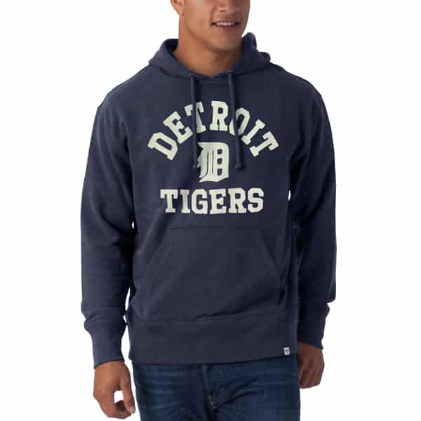 on sale 36d76 4eac6 Detroit Tigers 47 Brand Midnight Hoodie