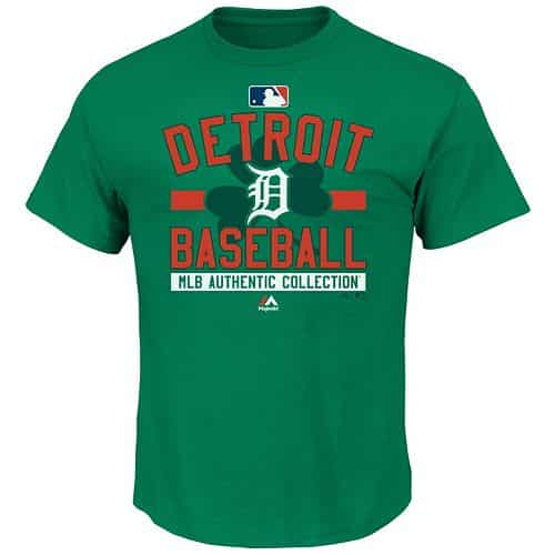 Detroit Tigers MLB St. Patricks Day T-Shirt