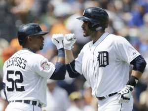 J.D. Martinez homers again in Tigers' 6-4 win over Mets