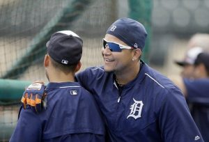 Miguel Cabrera, Victor Martinez could see first game action for Detroit Tigers as early as Sunday