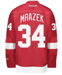 Mrazek Detroit Red Wings Home Jersey