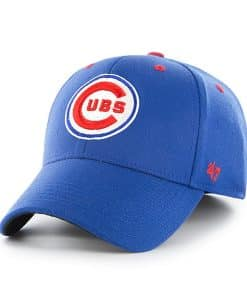 Chicago Cubs 47 Brand Blue Contender Stretch Fit Hat