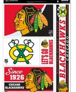 "Chicago Blackhawks 11""x17"" Ultra Decal Sheet"
