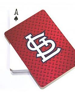 St. Louis Cardinals Diamond Plate Playing Cards