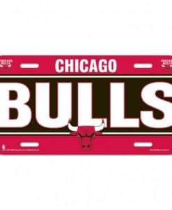 Bulls License Plate
