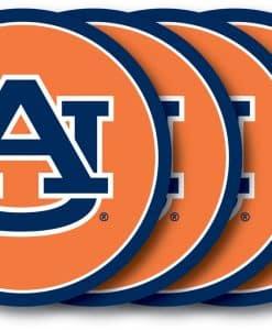 Auburn Tigers Coaster Set - 4 Pack