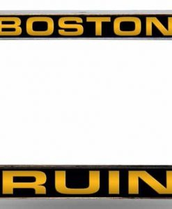 Bruins Laser Chrome License Plate Frame