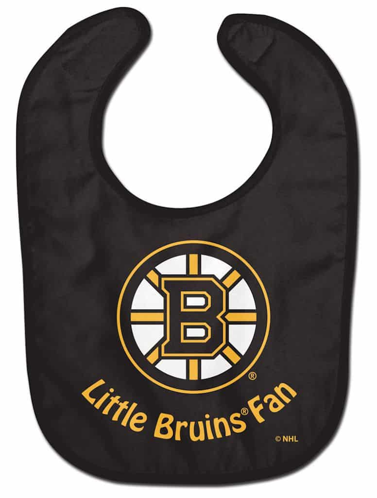 promo code e5332 24dc3 Boston Bruins Baby Bib - All Pro Little Fan