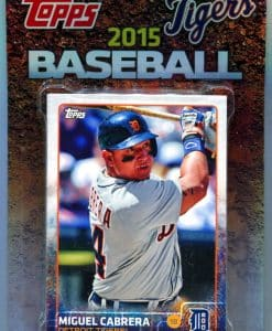 Detroit Tigers 2015 Topps Team Set