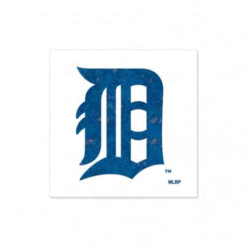 Detroit Tigers Glitter Tattoos 2 Pack