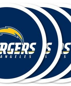Los Angeles Chargers Coaster Set - 4 Pack