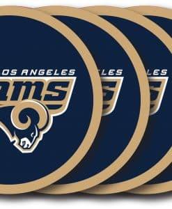 Los Angeles Rams Coaster Set - 4 Pack