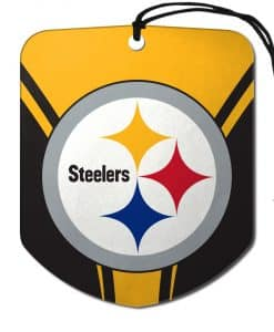 Pittsburgh Steelers Shield Air Freshener - 2 Pack