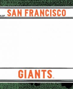 San Francisco Giants Chrome License Plate Frame
