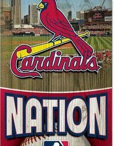 St. Louis Cardinals Wood Sign - Cardinals Nation