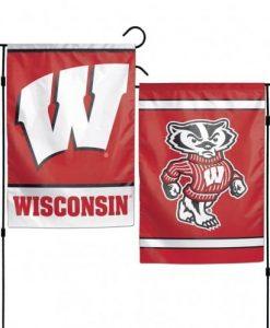 Wisconsin Badgers 11x15 Garden Flag