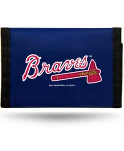 Atlanta Braves Wallet Nylon Trifold