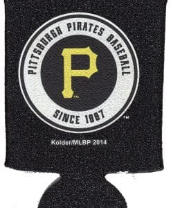 Pittsburgh Pirates Black Kolder Kaddy Can Holder - Glitter