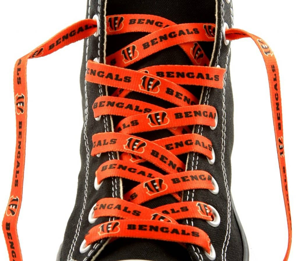 Cincinnati Bengals Shoe Laces - 54""
