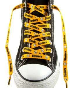 Pittsburgh Steelers Shoe Laces Gold