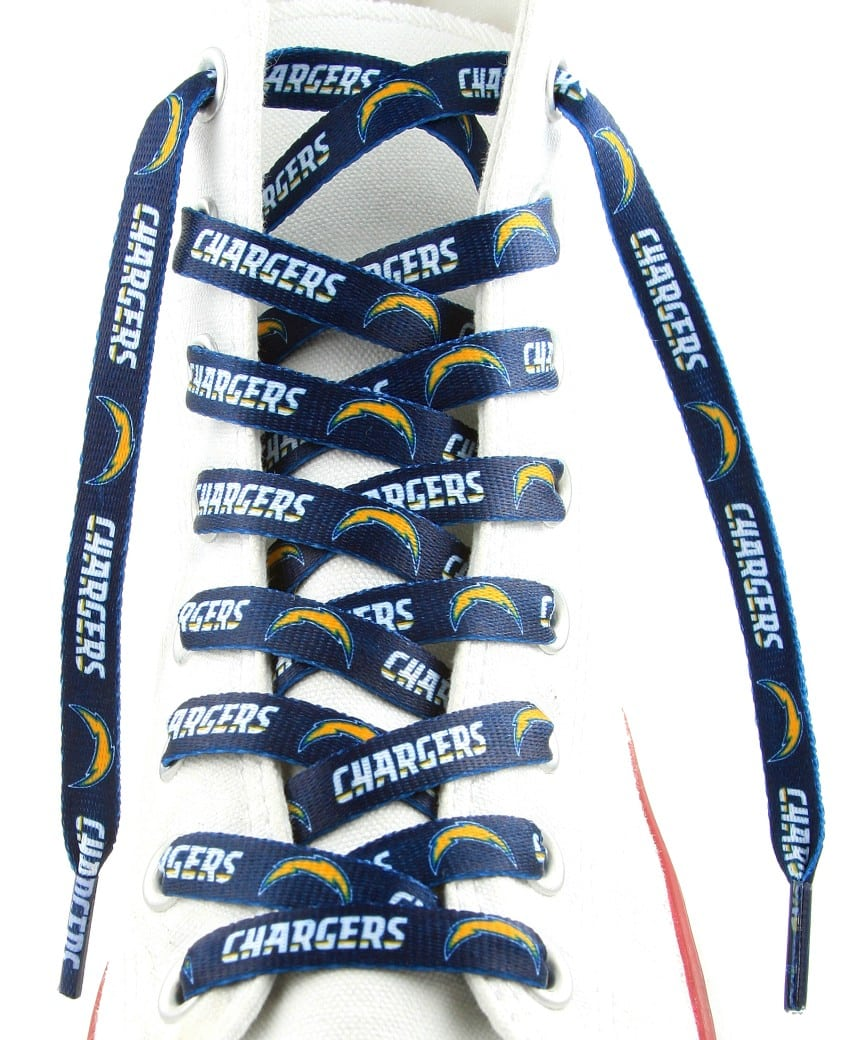 San Diego Chargers Gear Cheap: San Diego Chargers Shoe Laces