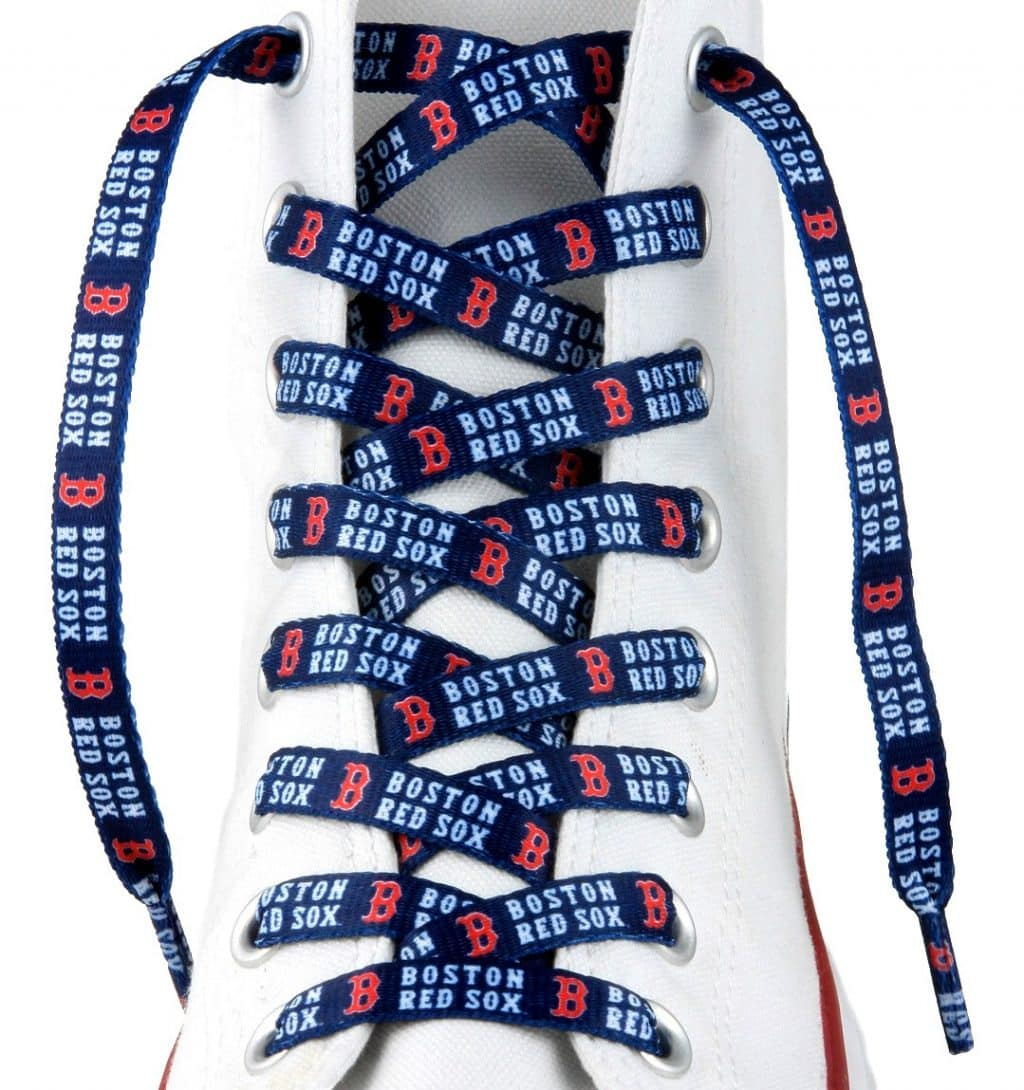 "Boston Red Sox Shoe Laces - 54"""