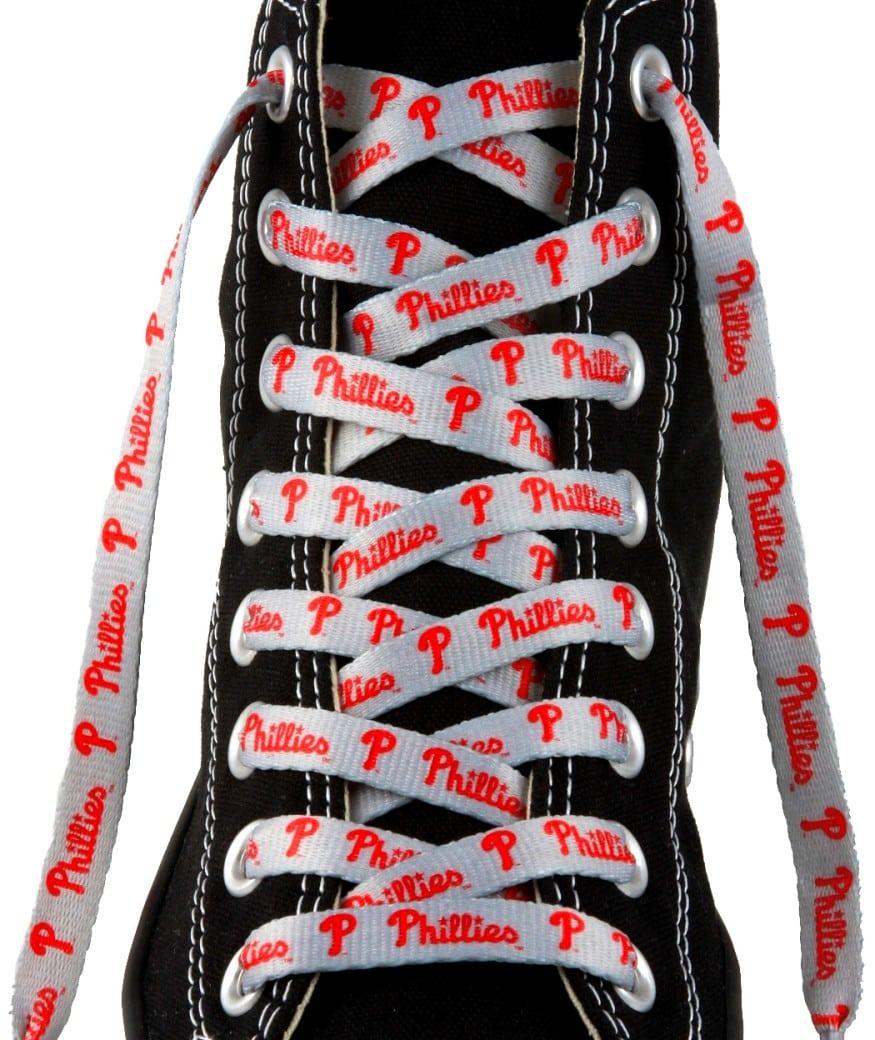 """Philadelphia Phillies Shoe Laces - 54"""""""