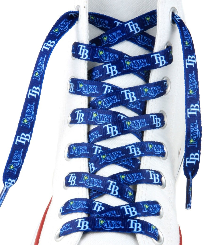 Tampa Bay Rays Shoe Laces - 54""