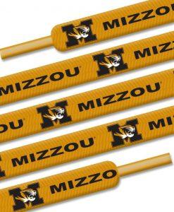 """Missouri Tigers Shoe Laces - 54"""""""