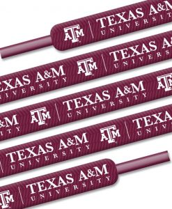 Texas A&M Aggies Shoe Laces - 54""
