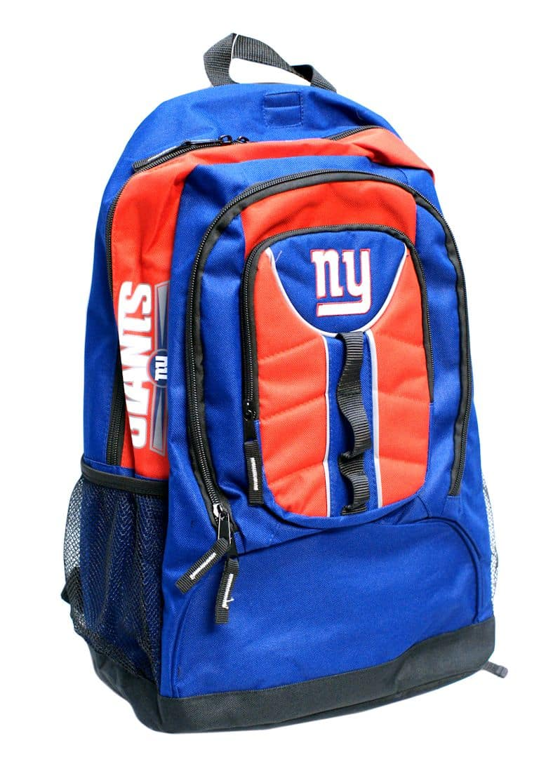 new york giants back pack navy colossus style detroit game gear. Black Bedroom Furniture Sets. Home Design Ideas