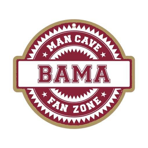 Alabama Man Cave Signs : Alabama crimson tide man cave fan zone wood sign detroit