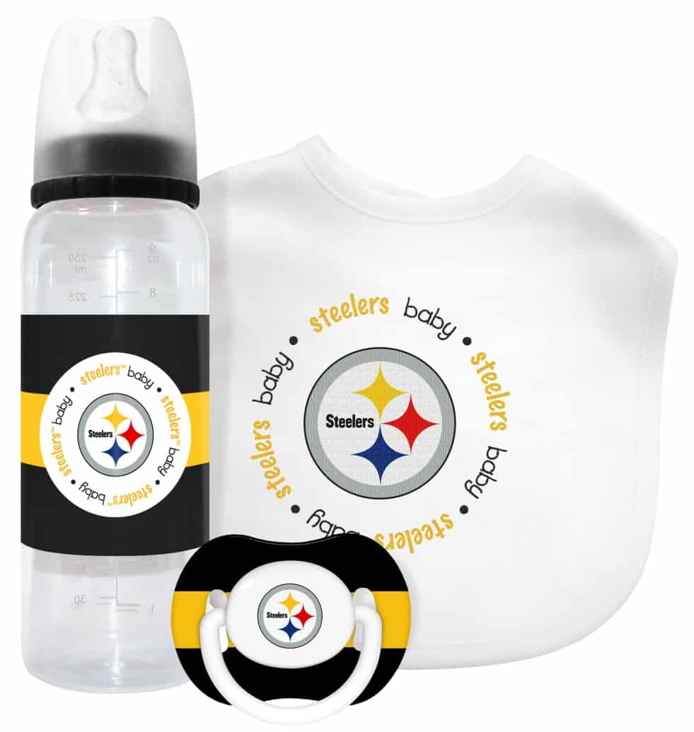750913175 Pittsburgh Steelers Baby Gift Set - Detroit Game Gear